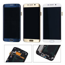 LCD Touch Screen Display Digitizer Assembly + Frame For Samsung Galaxy S6 Edge