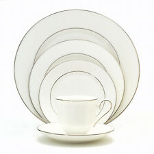 Lenox Hannah Platinum 60Pc China Set, Service for 12