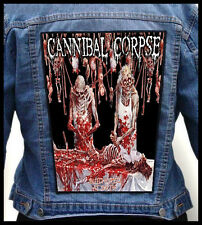 CANNIBAL CORPSE - Butchered at Birth  --- Huge Jacket Back Patch