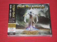 PRETTY MAIDS LOUDER THAN EVER  JAPAN CD WITH BONUS TRACK + DVD EDITION