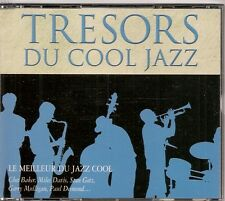 COFFRET 4 CDS COMPIL 72 TITRES--TRESORS DU COOL JAZZ--DAVIS/GETZ/BAKER/MULLIGAN