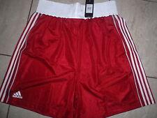 Adidas Box - Shorts B8  bis Knie neu Größe XXL rot/weiß neu Clima Lite
