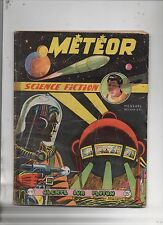 Météor n°17 - ARTIMA 1954 - GIORDAN. Science Fiction - pliures, dos scotché