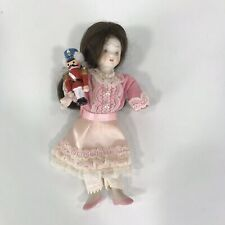 American Girl Samantha Porcelain Doll Clara with Nutcracker VTG Kurt Adler