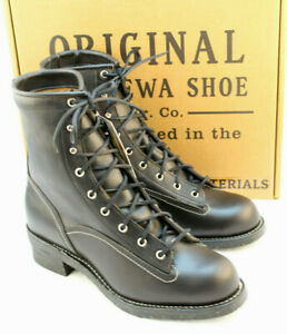 CHIPPEWA Size 12 D Original Logger Black Beaufort Soft Toe Mens Boot MSRP $290