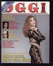 OGGI 50/1995 MILLY CARLUCCI NINO BENVENUTI MARILYN MONROE HEATHER PARISI MADONNA
