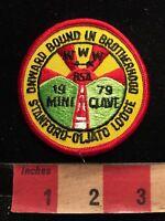 Vtg 1979 STANFORD OJALTO LODGE MINI-CONCLAVE WWW OA BSA Boy Scouts Patch 87I3