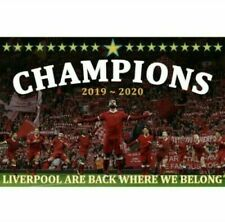 Liverpool Champions Flag. New. 2020 Champions. Large, Giant, Super Giant.
