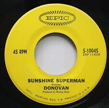 Rock 45 Donovan - Sunshine Superman / The Trip On Epic