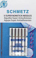 Schmetz Sewing Machine Needles, Super Nonstick, Universal, 90/14, #4503
