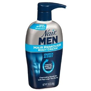 Nair Men Hair Removal Body Cream 13 oz (368 g)