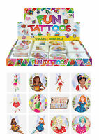72 Fairy Temporary Tattoos (6 Bags Of 12) - Pinata Loot/Party Bag Fillers Kids