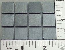 """12-1/2""""x1/2"""" BLACK W/ SILVER IRID BULLSEYE GLASS 90 COE"""