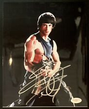 Sylvester Stallone Rambo Signed 8x10 Photo Autographed Rocky JSA Authenticated