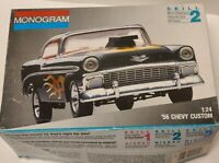 NEW '56 CHEVY Custom 1:24 Scale Monogram Model Kit -FREE SHIP-