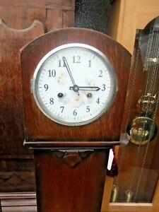 Grandmother clock  Mauthe striking movement vintage  gwo