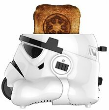Star Wars Stormtrooper Toaster Kitchen Disney Breakfast in Gloss White NEW