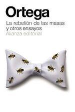 La rebelión de las masas y otros ensayos. ENVÍO URGENTE (ESPAÑA)