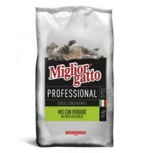 Morando MIGLIOR GATTO VERDURE 15 KG PROFESSIONAL Proteina al 30% crocchette gatt