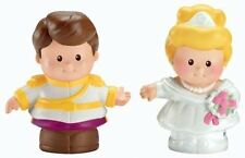 FISHER-PRICE LITTLE PEOPLE - CINDERELLA AND PRINCE CHARMING - BNIP