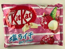 NEW 1 bag SALT LYCHEE KitKat - Japanese Kit Kat kats White Chocolate