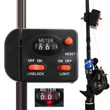 Tiefenmesser 0-99,9 Meter Schnurzähler Tiefenzähler Line Counter Meeresangeln