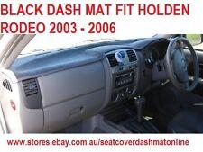 DASH MAT, DASHMAT,BLACK DASHBOARD COVER FIT HOLDEN RODEO 2003-2006, BLACK