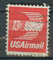 Briefmarken USA 1973 Luftpostbrief Mi.Nr.1125
