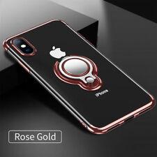 iPhone XS MAX Transparent Rose G...