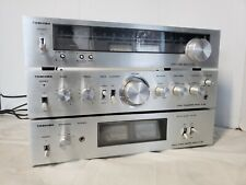 Toshiba Sc-335 Stereo Power Amplifier w/ Sy-335 Preamp & St-335 Stereo Tuner