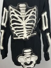 Skeleton Shirt Halloween Three Dimentional Zombie Walking Dead Size Small