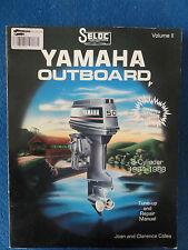 Outboard ShopService Manual Yamaha 3 cylinder 1984-1988 ISBN 0893300225
