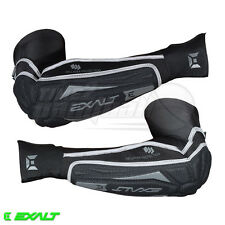 Exalt Paintball T3 Elbow Pads - Medium / Large - Black / Grey **FREE SHIPPING**