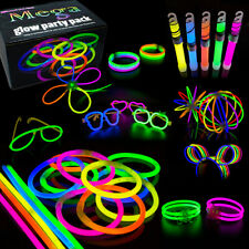 Mega Glow Sticks Party Pack Bracelets, Glasses, Bunny Ears, Ball, Flowers 463pcs