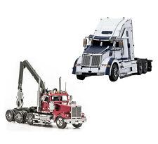 Fascinations Metal Earth WESTERN STAR 4900 Log Truck & 5700XE Phantom Model Kits