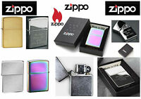 Genuine Zippo Lighters Personalised With Free Engraving Boxed Christmas Gift New