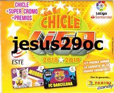 CHICLES liga ESTE 2018 - 2019  COLECCION de los 60 cromos y 20 quien es