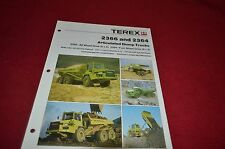 Terex 2366 2364 Articulated Dump Truck Dealer's Brochure DCPA4
