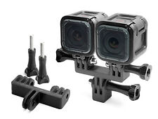 Splitter Teiler Mount f. GoPro Go Pro 4 Session Zubehör Adapter Tripod