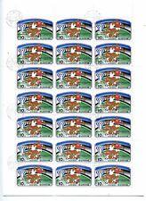 Planche de timbres / Corée / Coupe du monde de Foot 1977 / LD177