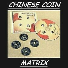 CHINESE COIN MATRIX w/DVD + COINS INCLUDED CLOSEUP PARTY MAGIC TRICK USA SELLER