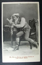 POSTCARD Martin Harvey as Sydney Carton in The Only Way;  London Stereoscopic Co