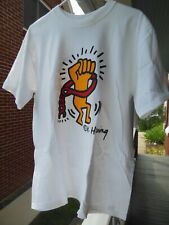 Keith Haring T-shirt (Xl) Tibetan Freedom Concert 2003 (rare) Pop Shop Nyc