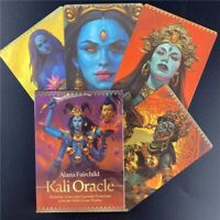 Tarot Of KALI Oracle Deck Games 44 Cards Magic Fate Divination English.