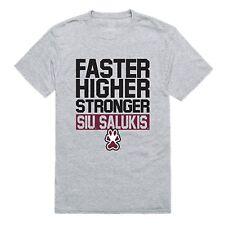 Southern Illinois University Salukis Ncaa Logo Workout T-Shirt S-2Xl