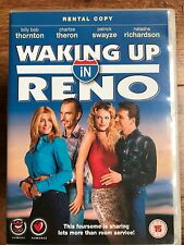 Charlize Theron Patrick Swayze WAKING UP IN RENO ~ 2001 Commedia UK Noleggio DVD