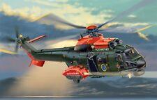 ITALERI helicóptero Cougar 1325 AS.532 Kit Plástico 1:72nd escala Tracked 48 Post