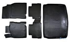Exklusiv 5-tlg SET Gummimatten + Kofferraumwanne für Nissan Qashqai J11 2014-18