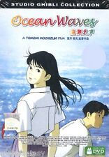 DVD OCEAN WAVES English Subbed Tin Box Studio Ghibli Collection