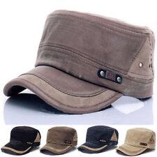 Vintage Military Army Patrol Cadet Men's Hat Adjustable Baseball Cap Sport Caps
